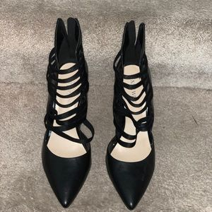 Black Nine West Heels